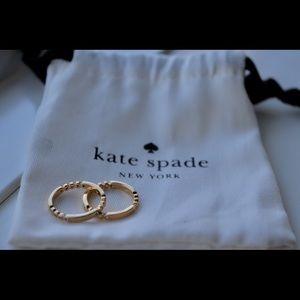 Kate Spade Stackable Rings